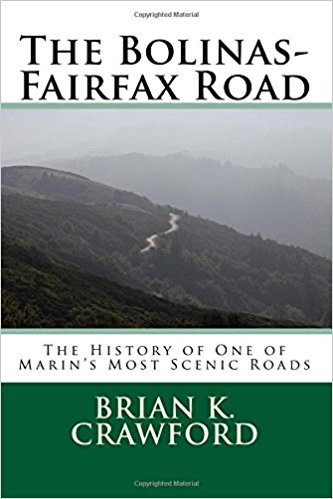 Cover of Bolinas-Fairfax road, a picture of the road near alpine lake