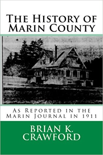 Cover of History of Marin - a picture of an old house.