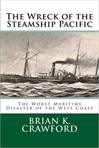 Cover of Steamship Pacific - an image of the steamer